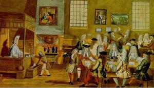 English Coffee house